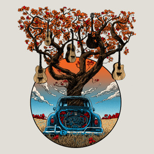 """VW Guitars"" -- By Tim Doyle (on Natural Tee)"