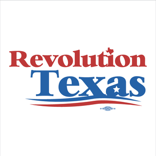 """Revolution Texas Logo"" Graphic (on White Tee)"