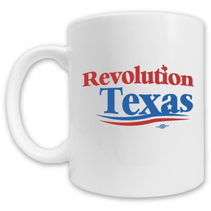 """Revolution Texas Logo"" Mug -- 11oz ceramic"