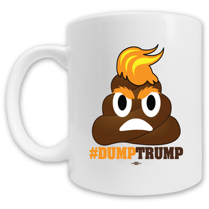 """#DumpTrump"" Mug -- 11oz ceramic"