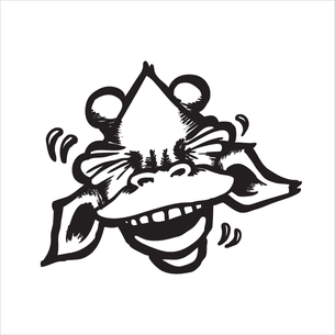 """Laughing Draff"" Graphic (on White Tee)"