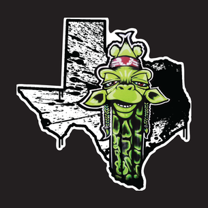 """Texas Draff"" Graphic (on Black Tee)"