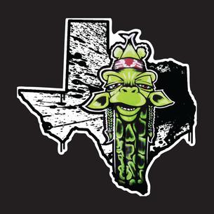"""Texas Draff"" Graphic (on Black Tee)"