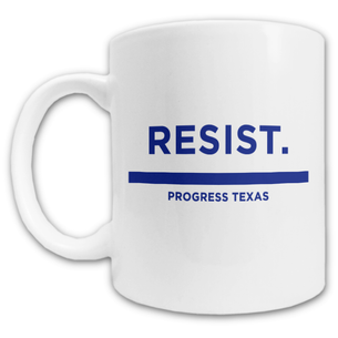 """Resist."" Mug -- 11oz ceramic"