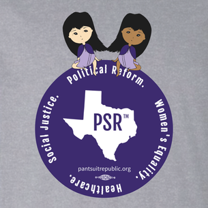 """PSR Women's Equality"" Logo Graphic (on Athletic Heather Tee)"
