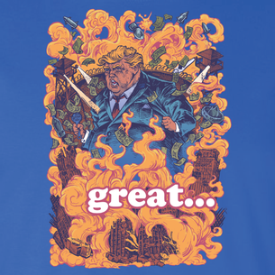 """Trumpocalypse"" Graphic by Michael Pollock (On Royal Tee)"