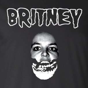 """Britney"" Graphic by Nate Sakulich (On Black Tee)"