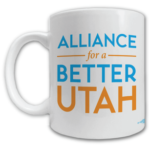 """""""Alliance For A Better Utah Logo"""" Mug -- 11oz ceramic"""