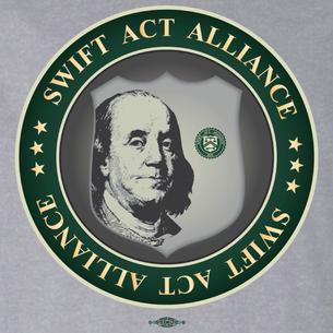 SWIFT Act Alliance Logo (On Athletic Heather Tee)
