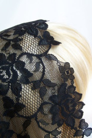 Extra Large Triangle Floral Lace Mantillas