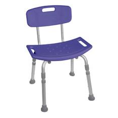 Blue Bathroom Safety Shower Tub Chair - 12202kdrb-1