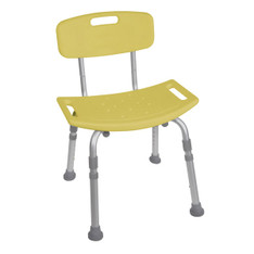 Yellow Bathroom Safety Shower Tub Chair - 12202kdry-1