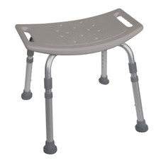 Grey Bath Bench without Back - rtl12203kdr