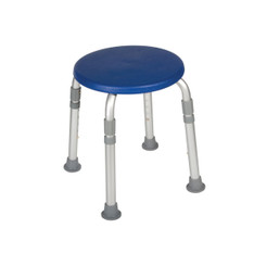 Adjustable Height Blue Bath Stool - 12004kdrb-1
