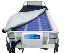 "Med Aire 8"" Defined Perimeter Low Air Loss Mattress Replacement System with Low Pressure Alarm - 14029dp"