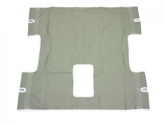 Bariatric Heavy Duty Canvas Sling with Commode Cutout - 13061