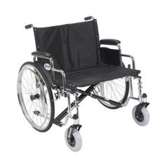 Sentra EC Heavy Duty Extra Wide Wheelchair with Detachable Desk Arms - std26ecdda