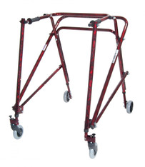 Adult Nimbo Rehab Lightweight Flame Red Posterior Posture Walker - ka 5200n