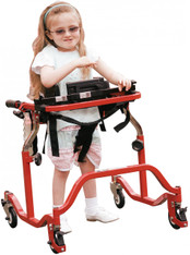 Pediatric Luminator Red Anterior Gait Trainer - lt 2100