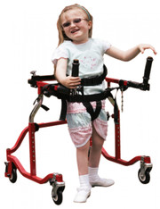 Pediatric Luminator Red Posterior Gait Trainer - lt 3100