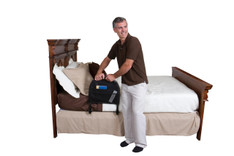 Bed Rail Advantage Traveler + Organizer
