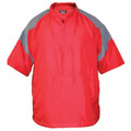Batting Cage Jacket Short Sleeve Front