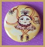 Ballerina 12pk Pin/Buttons