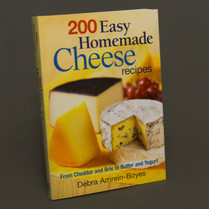 200 Easy Homemade Cheese Recipes...