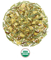 Ginger Lime Rooibos Caffeine-Free Herbal Blend Organic