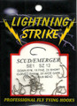 Lighning Strike Down Eye Scud/Emerger 25 count SE1