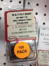 Wapsi Streamer / Nymph Hooks 100 Ct.