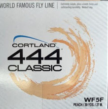 Cortland Weight Forward Fly Lines in Peach Braided nylon core