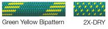 New England Apex Bi-Pattern Green Yellow
