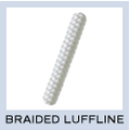 New England Polyester Braided Luffline