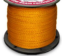 Hollow braid polypropylene Orange