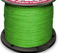 Hollow Braid Polypropylene Green