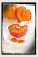 """Wondrous Wicks"" Pumpkin Souffle 4 OZ - Burns 20-25 Hours!"