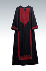 Long embroidered dress (Thoub).