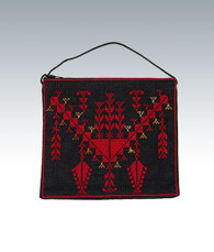 Evening Purse Front-Emboidered