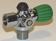 Rebreather Side Valve - Green Handle