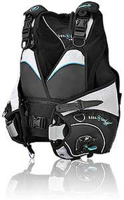 Aqualung Pearl i3 BC - Black/Aqua - Medium/Large
