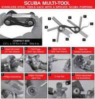Scuba TECH Multi Tool