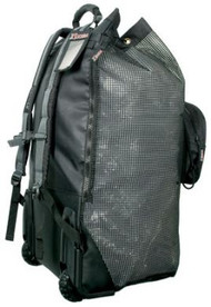 XS Scuba Mesh Backpack on Wheels