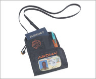 Akona Travelers Neck Wallet