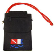 Scuba Travel Neck Wallet