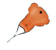 140# Orange Lift Bag