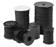 Black Nylon Line 2mm - 330ft Spool
