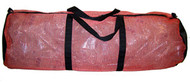 "#145 Armor The Nautical Mesh Duffel 28""- Red"