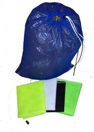 "#13-6 Armor  Mesh Drawstring Bag 18""X 30"" - Blue"