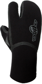 Aqua Lung 6mm Heat Neoprene 3 Finger Mitt - M